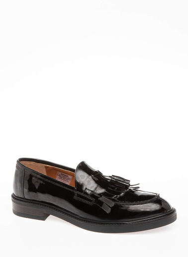 DeFacto Püsküllü Loafer Ayakkabı Siyah